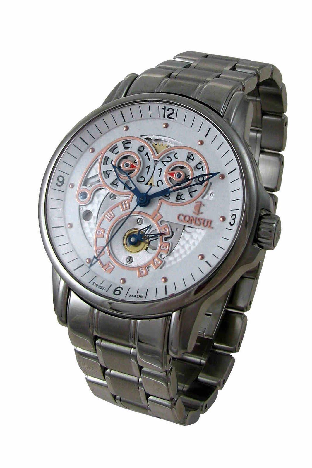 Swiss watch maker CONSUL
