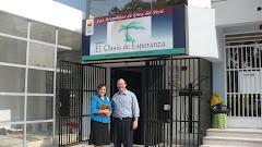 John and Rosario Celis-El Oasis' 1st Missionary