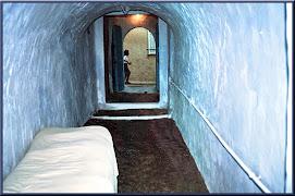l'entrée de la maison familiale à Nabeul