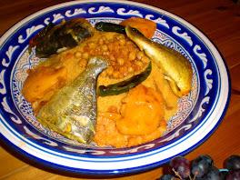 un couscous au poisson