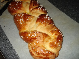 brioche, pain tressé du chabbat