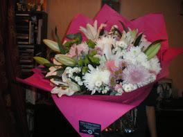 un bouquet de fleurs pour égayer une journée