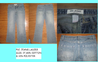 LADIES JEANS (PDI BRAND)