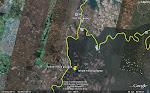Ubicacion satelital Tekoa Mbya Guapoy