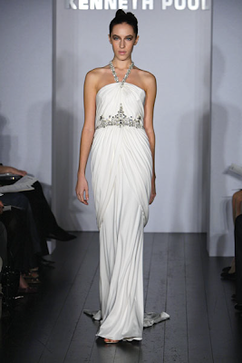Kenneth Pool, designer wedding dress