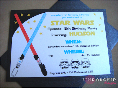 Star Wars Party Invitations. Star Wars Birthday Party