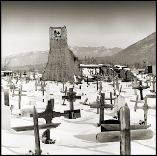 Remenants of the Taos Church and Indian Burial Grounds - New Mexico - Brandon Allen
