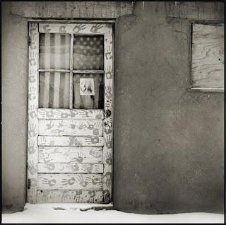 Door at Taos Pueblo - New Mexico - Brandon Allen