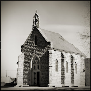 Church at San Juan Pueblo - New Mexico - Brandon Allen Photography