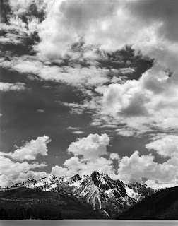 Large Format Black and White Photography - Brandon Allen - Sawtooth Mountains