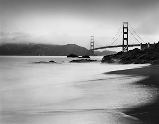 Brandon Allen Photography - Golden Gate Bridge - Large Format Black and White