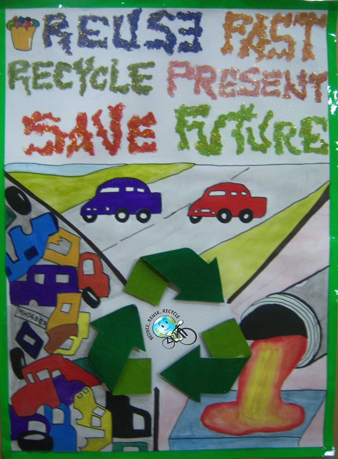 essay on reuse the past recycle the present Recycling starts with you and discover why we recycle review the answers as a group or collect their papers to check responses.