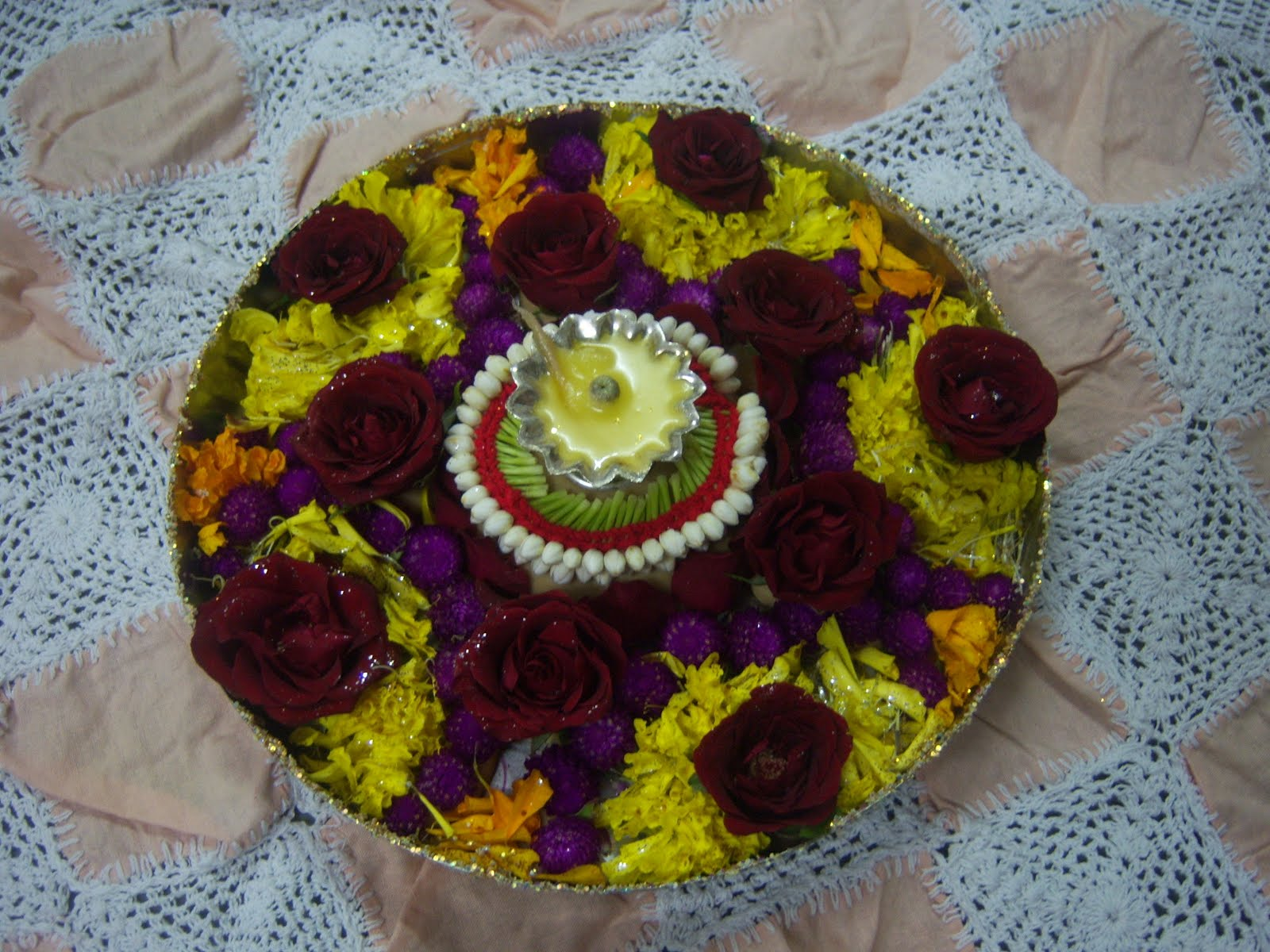 On My Board Right Now Navratri Aarti Decoration 2