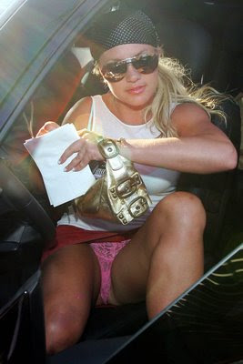 Britney Spears New Getting Out Of Car Upskirt Candids