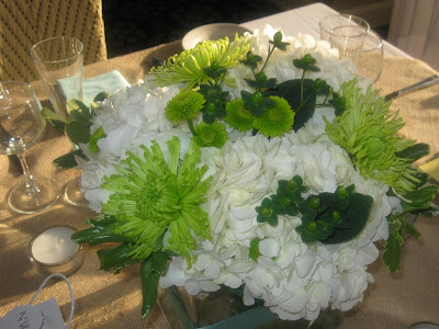 The amazing centerpieces bouquets and registration table floral were all