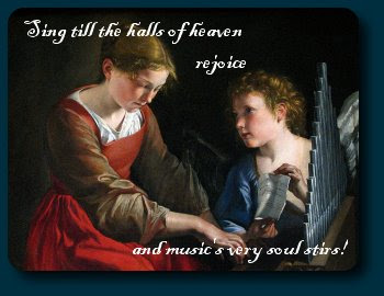 St Cecilia and Angel