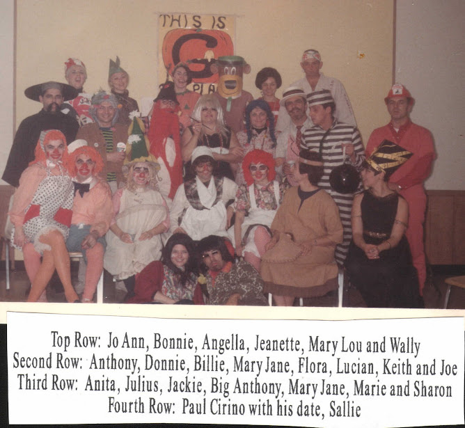 Cousin Clubs Halloween Party 1967