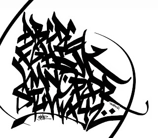 Abstrack Alphabet Graffiti