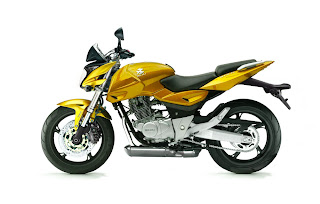 Motorcycle Bajaj Pulsar 220 Gold Street Racing Modified