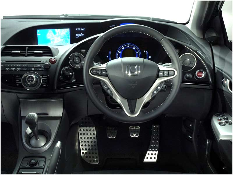 Interior Honda Jazz Rs