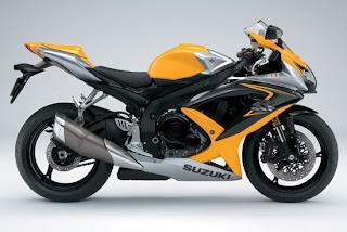 Motorcycles 2008  Suzuki GSX R600 Yellow Edition Bodykit