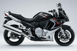 Motorcycles 2008 Suzuki GSX650F Sport Black Edition Bodykit