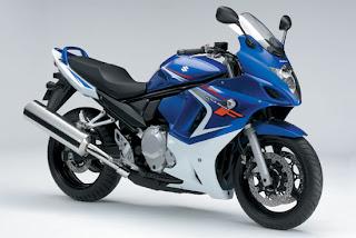 Motorcycles 2008 Suzuki GSX650F Sport Blue Edition Bodykit