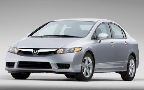 2009 Honda Civic Silver