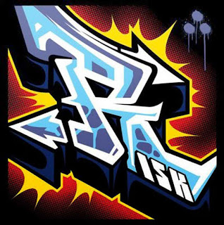 Graffiti Alphabet Sketches Letter R