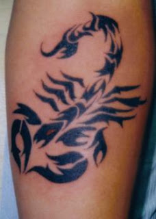 Scorpion Tattoo Tribal