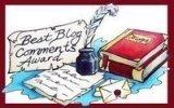 Best Blog Comment Award
