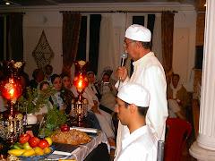 جشن مهرگان - ابيانه - سال 82- مراسم پرسه خواني - موبد اردشير مانوكچي