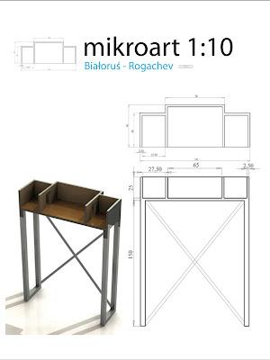 microart 1:10 wystawa malarstwa Pawła Żugaja, Rogachev