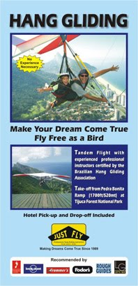 Hang Gliding in Rio Brochure