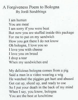 A Forgiveness Poem to Bologna | Welcome to Michael Lortz.com