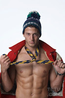 male model Michael Lewis TETU winter