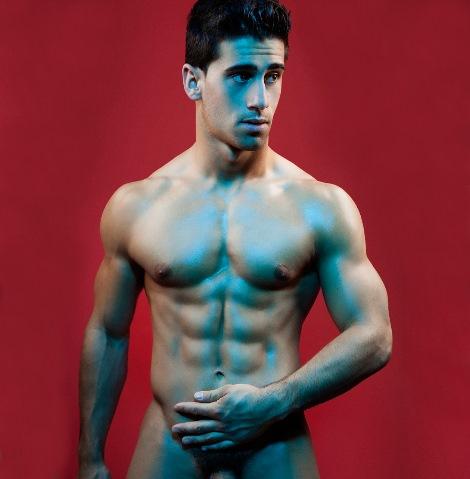 Male model David Havanero Costa