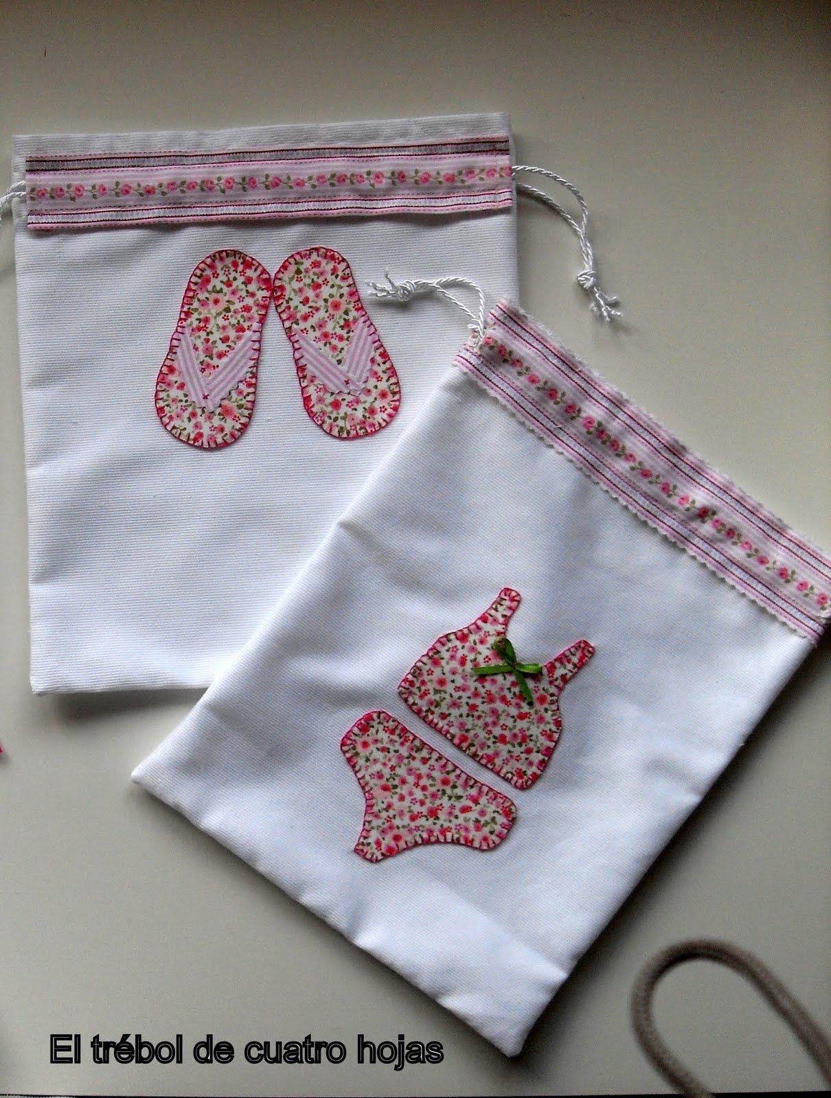 El tr bol de cuatro hojas bolsas para ropa interior y for Bolsas para ropa