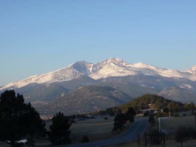 Early Morning Long's Peak