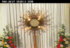 Visit the Most Blessed Sacrament