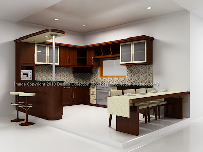Design Collection: Semi Minimalist Kitchen Set