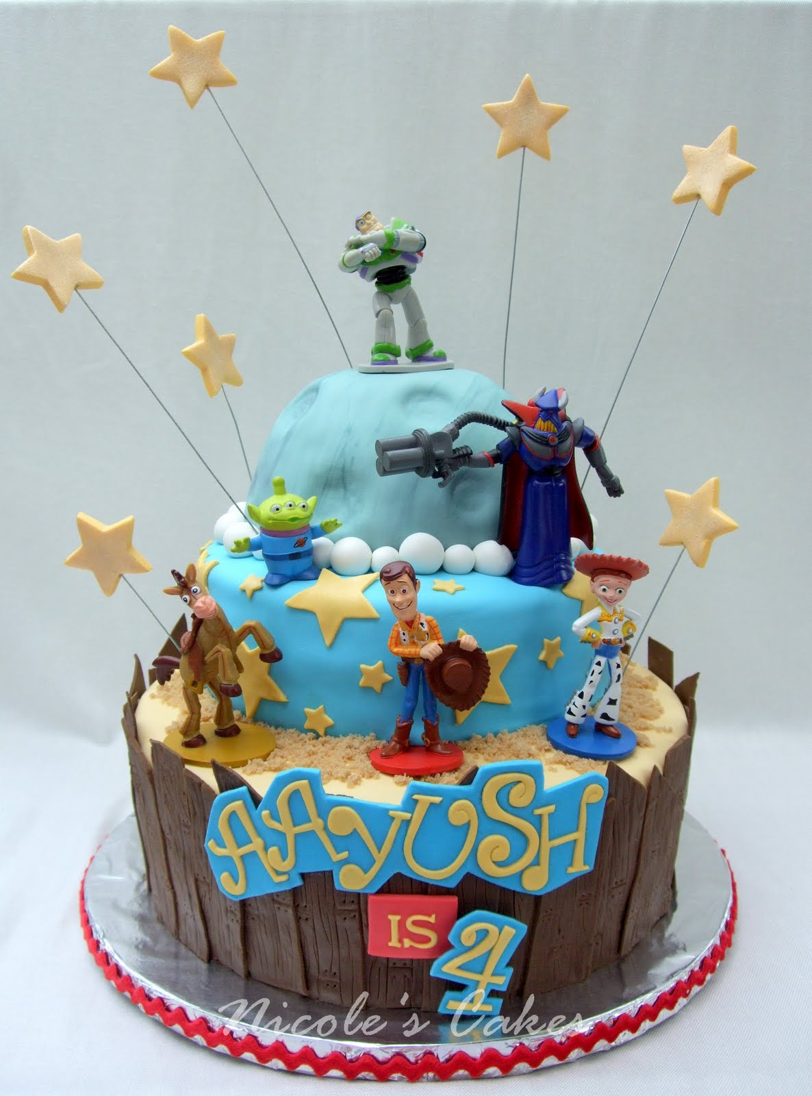 On Birthday Cakes To Infinity And Beyond Quot A Toy