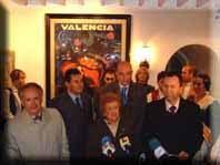 ALBAIDA RECIBE EL PRIMER CARTEL DE LAS FALLAS DE VALENCIA