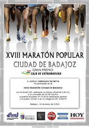 Maratona de Badajoz 2010