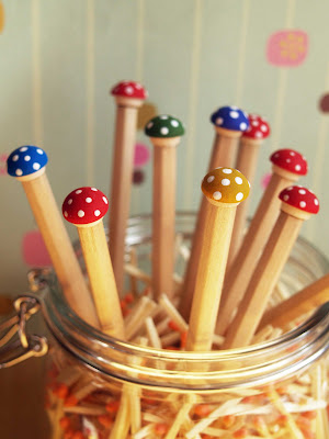 Most Popular Post - Toadstool Pencils