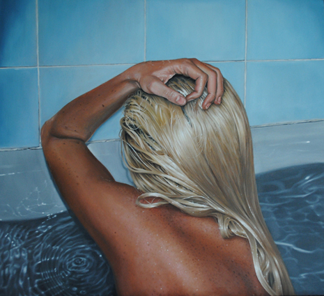 Linnea Strid photorealistic paintings
