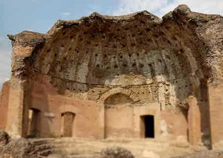 Roman heliocamus solar waterheater