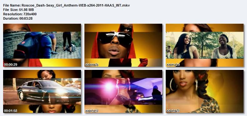 Roscoe Dash - Sexy Girl Anthem Prod By DJ Spinz