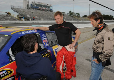 Auto Racing  Smyrna Florida on Michael Waltrip Racing Wraps Two Day Test With Salo And Trulli