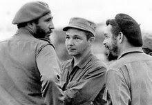 Fidel,  Raúl y el Ché